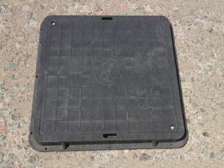 Полимерный квадратный люк большой 710х710